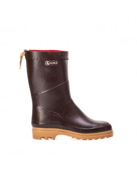 Bottines Aigle Bison Marron